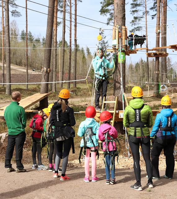 Uusi köysiseikkailupuisto avattiin Helsingin Paloheinään 5
