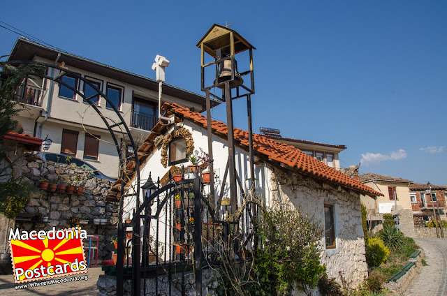 St. Mary church (Sv. Bogorodica Pandonos), Ohrid, Macedonia