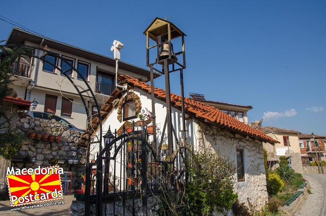 St. Mary church (Sv. Bogorodica Pandonos), Ohrid, Macedonia