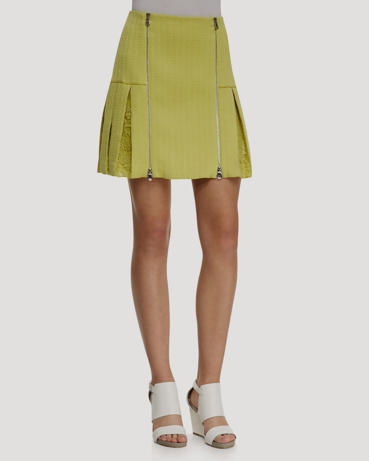 Nieman Marcus lemon drop skirt