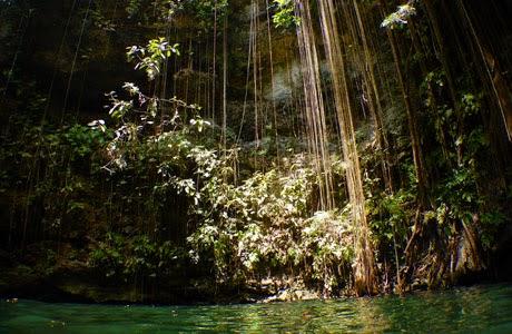 Cenote en Yucartán