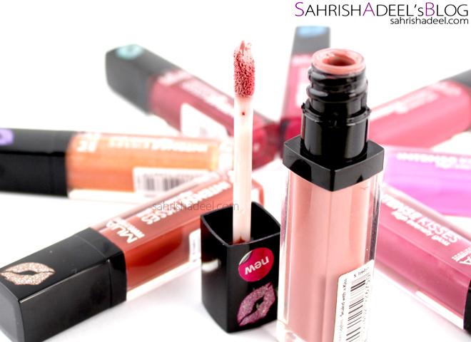 MUA Intense Kisses Lip Glosses - Full Range Review & Swatches