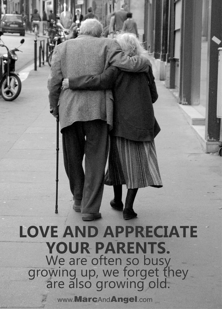 Monday Inspiration Love And Appreciate Your Parents