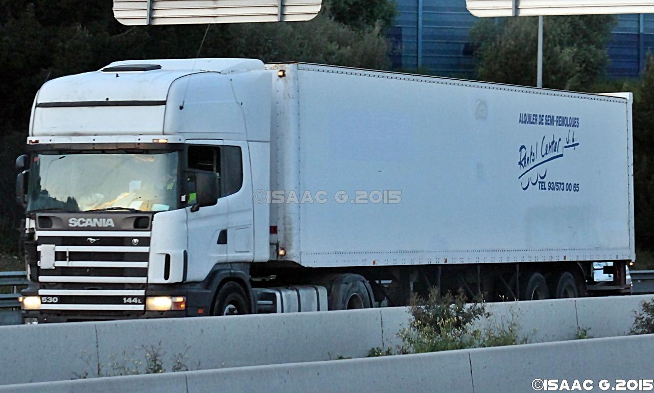 Camiones y autobuses en baleares scania 144l - Transporte islas baleares ...