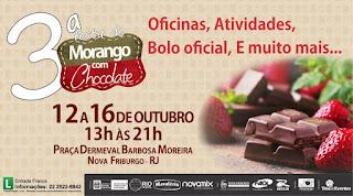 3ª Festa do Morango com Chocolate em Nova Friburgo RJ