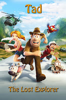 Tad The Lost Explorer 2012 720p Hindi BRRip Dual Audio Full Movie