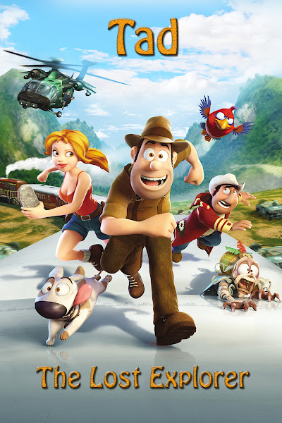 Poster of Tad The Lost Explorer 2012 720p Hindi BRRip Dual Audio Full Movie
