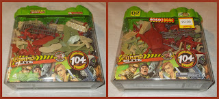 2 Galoob X-panders Lanard The Corps Elite Fantasy G.I's Plastic Toy Soldiers - Toob Tub Container 1 104 Pieces; 3 Armies; Attack Helicopter; Attack Walker; Challenger I; Challenger II; Fantasy Figures; Galoob GI's; Giant Sets; Helicopter; Lanard Toys; M1 Abrams; Made in China; Plastic Figurines; Sci Fi Figurines; Science Fiction Figures; Small Scale World; smallscaleworld.blogspot.com; Smyths Toys; Vehicles; Walker Bot; Walmart;