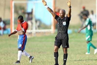 Referee Lathbridge should appeal against lifetime ban- George Afriyie