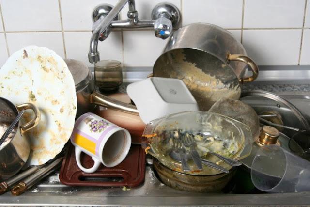Pernah Merasa Bak Cuci Piring Berbau Meski Sudah Di Cuci Bersih ? Ini Solusinya Praktik Dan Mudah