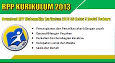 Download Contoh RPP Matematika Kurikulum 2013 Versi Terbaru Tahun 2018/2019