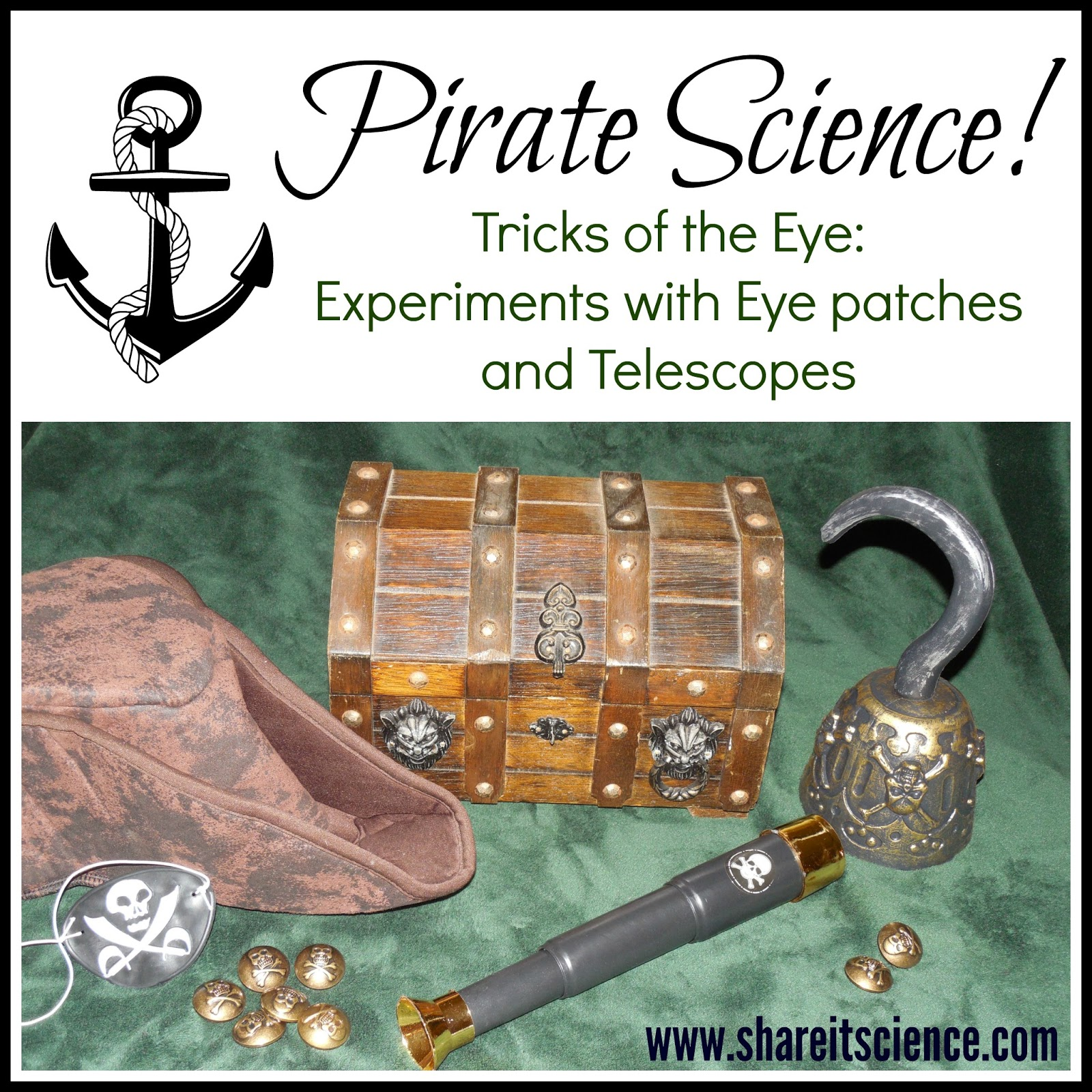 Share it! Science : Pirate Science: Tricks of the Eye