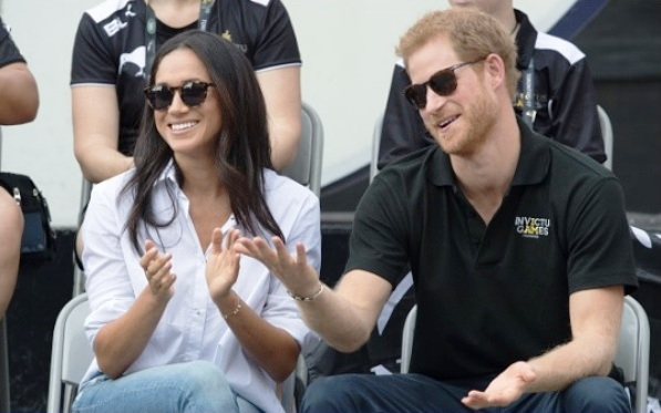 Prince Harry and Meghan Markle in Pictures