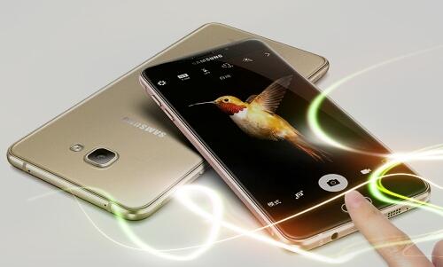 Smartphone Ini Dikenal Dengan Nama Samsung Galaxy C9 Pro Yang Memiliki Desain Sangat Unik Dan Cantik Body Full Metal Ada Aksen Garis Antena