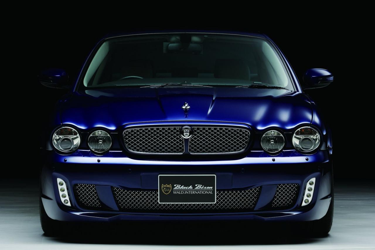 auto car tuning styling jaguar xj x350 black bison. Black Bedroom Furniture Sets. Home Design Ideas