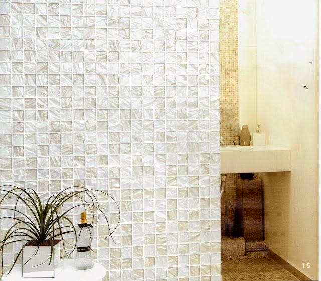 O Azulejista Pastilha de vidro!Cuidados no assentamento de pastilha transpar -> Banheiro Com Pastilha De Vidro Transparente