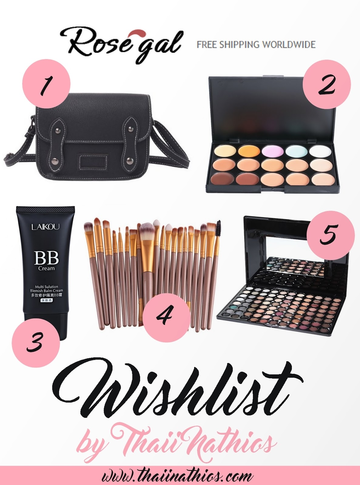 Wishlist Rosegal | Loja Online com Frete Grátis