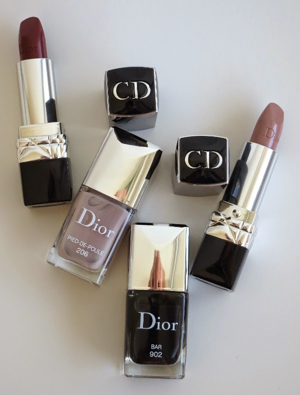 Rouge Dior and Dior Vernis Pied-de-Poule and Bar