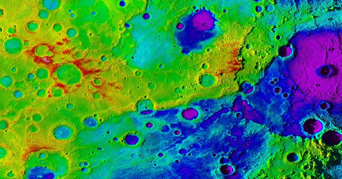 Scoperta una vastissima valle Mercurio