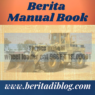 Wheel loader cat 966F II service manual