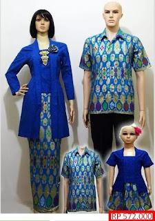 batik sarimbit keluarga kombinasi katun