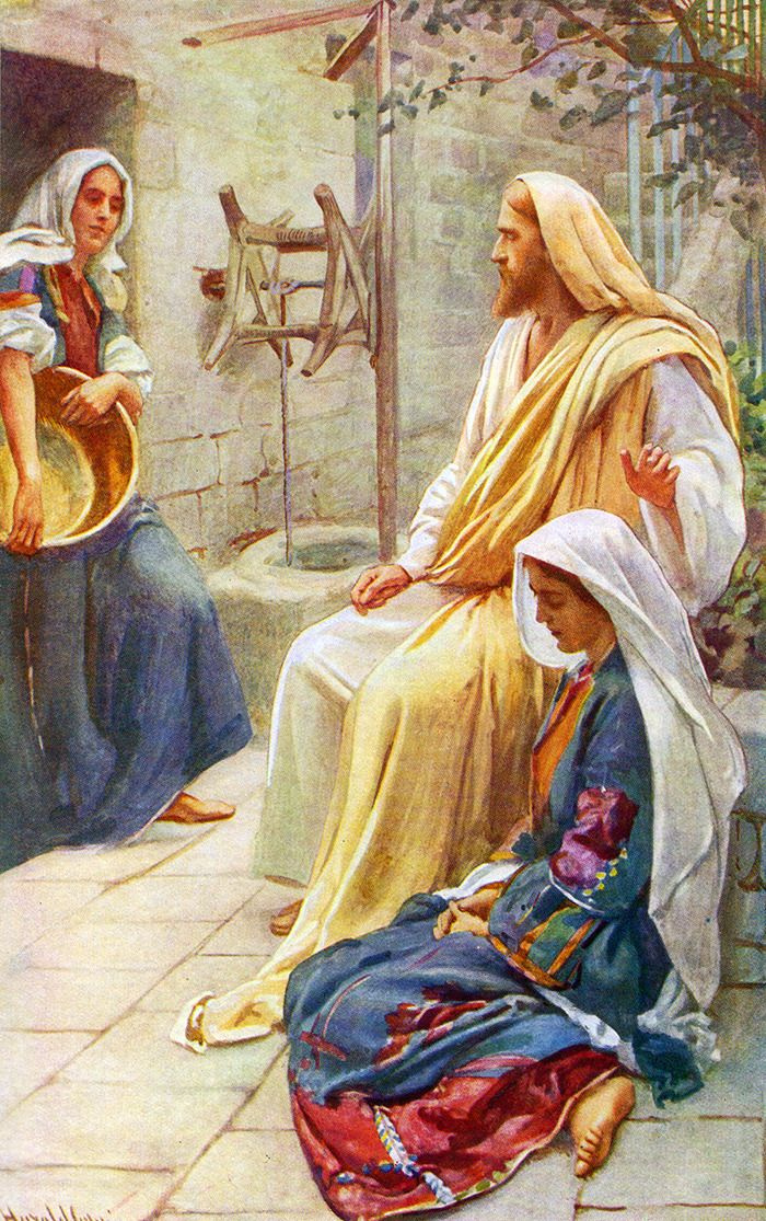 Martha complained to Jesus, and Jesus proceeded to explain why He was pleased by Mary's response.