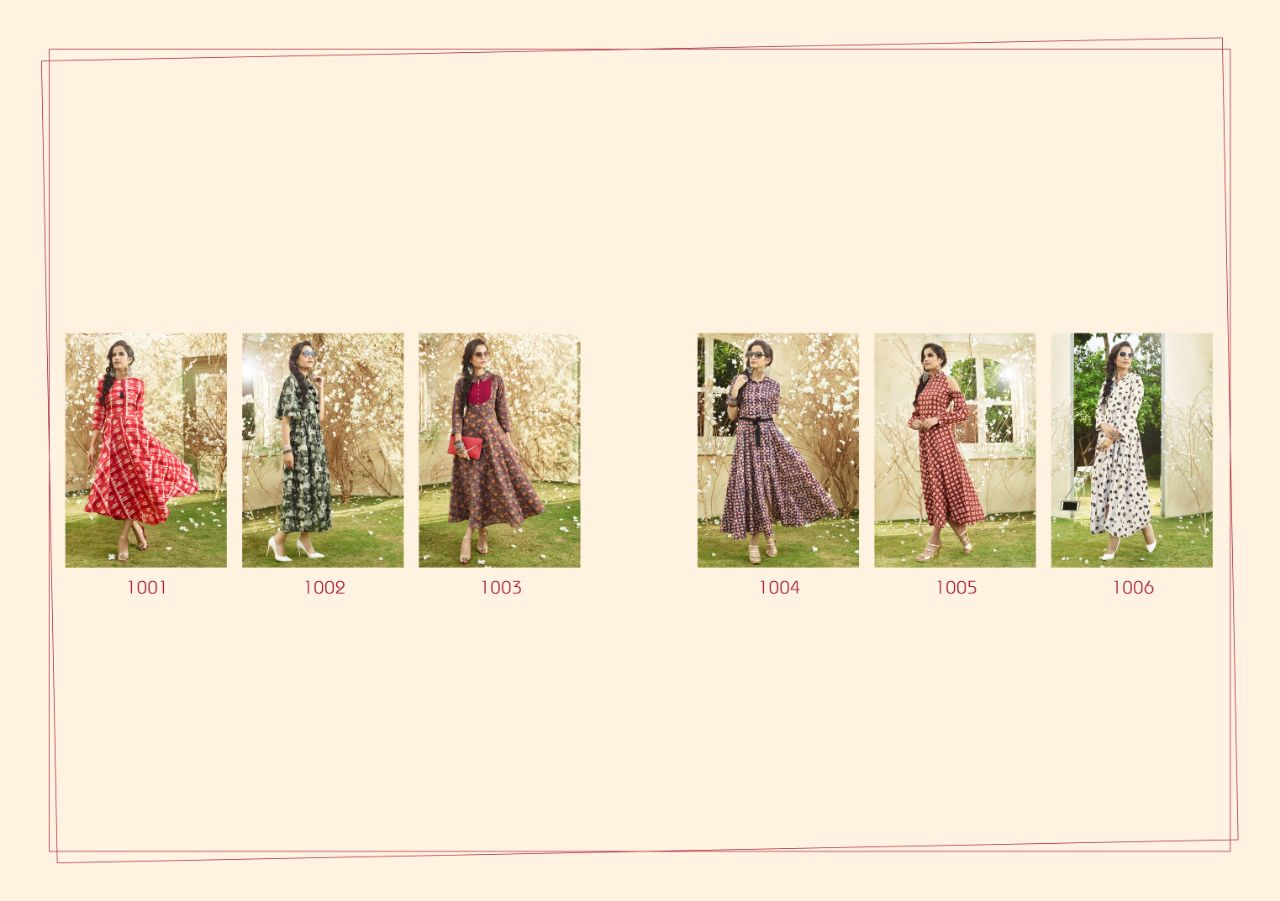 AADHIRA VOL 1-New Arrival Designer Loan Cotton Kurti