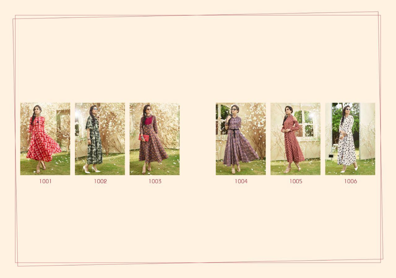 AADHIRA VOL 1-New Arrival Designer Loan Cotton Kurti
