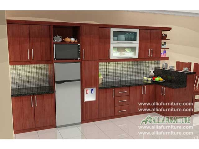 kitchen set mini bar minimalis foxy
