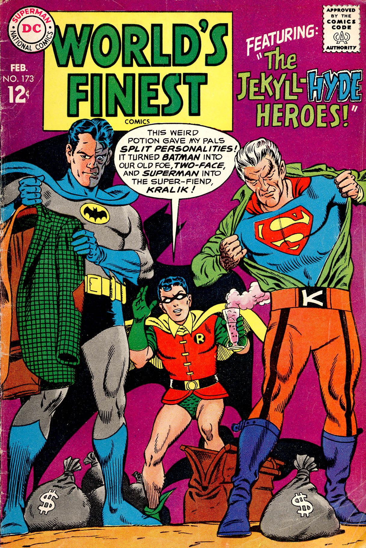 Read online World's Finest Comics comic -  Issue #173 - 1