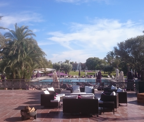 Pullman La Palmeraie Resort & Spa, Marrakech | Happy in Red