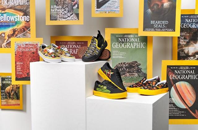 Vans celebra la expresión creativa junto con National Geographic.