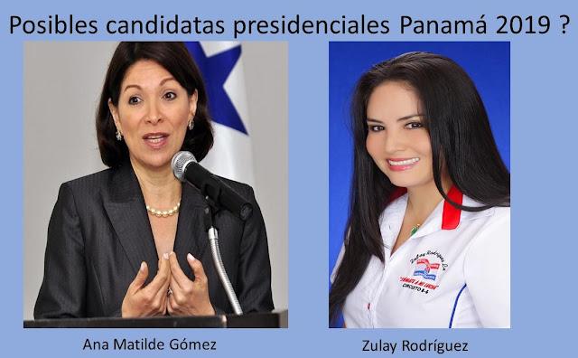 Posibles candidatas para las presidenciales Panamá 2019