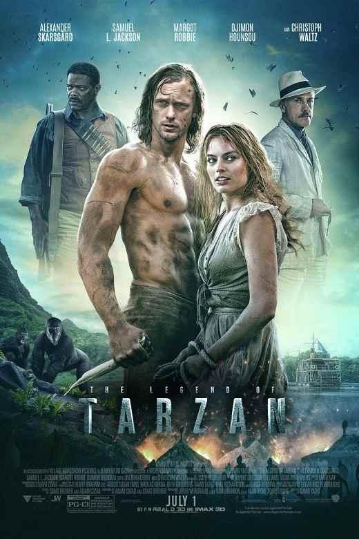 فیلم دوبله: افسانه تارزان (2016) The Legend of Tarzan