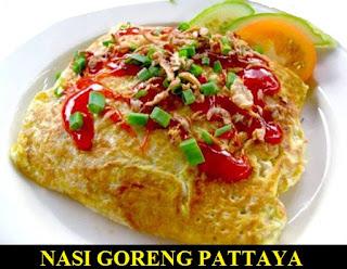 Resep Dan Cara Membuat Nasi Goreng Pattaya