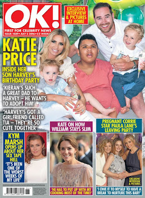 Katie Price has posted a photo of child Harvey and his better half in her most recent Instagram snap.  The 38-year-old uncovered in June that her 14-year-old child had a sweetheart called Tia who he met at his school in South London and that they've really been as one for a couple of y