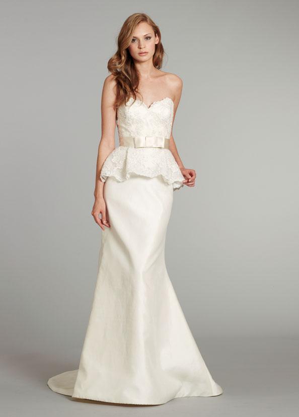 Wedding Dresses Style Peplum