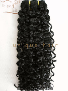 afro human hair weft