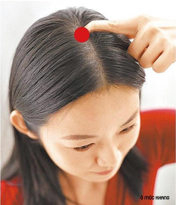 Cách bấm huyệt đạo biến tóc bạc thành tóc đen sau 2 tuần 3