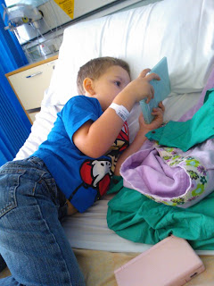 Big Boy waiting to be discharged