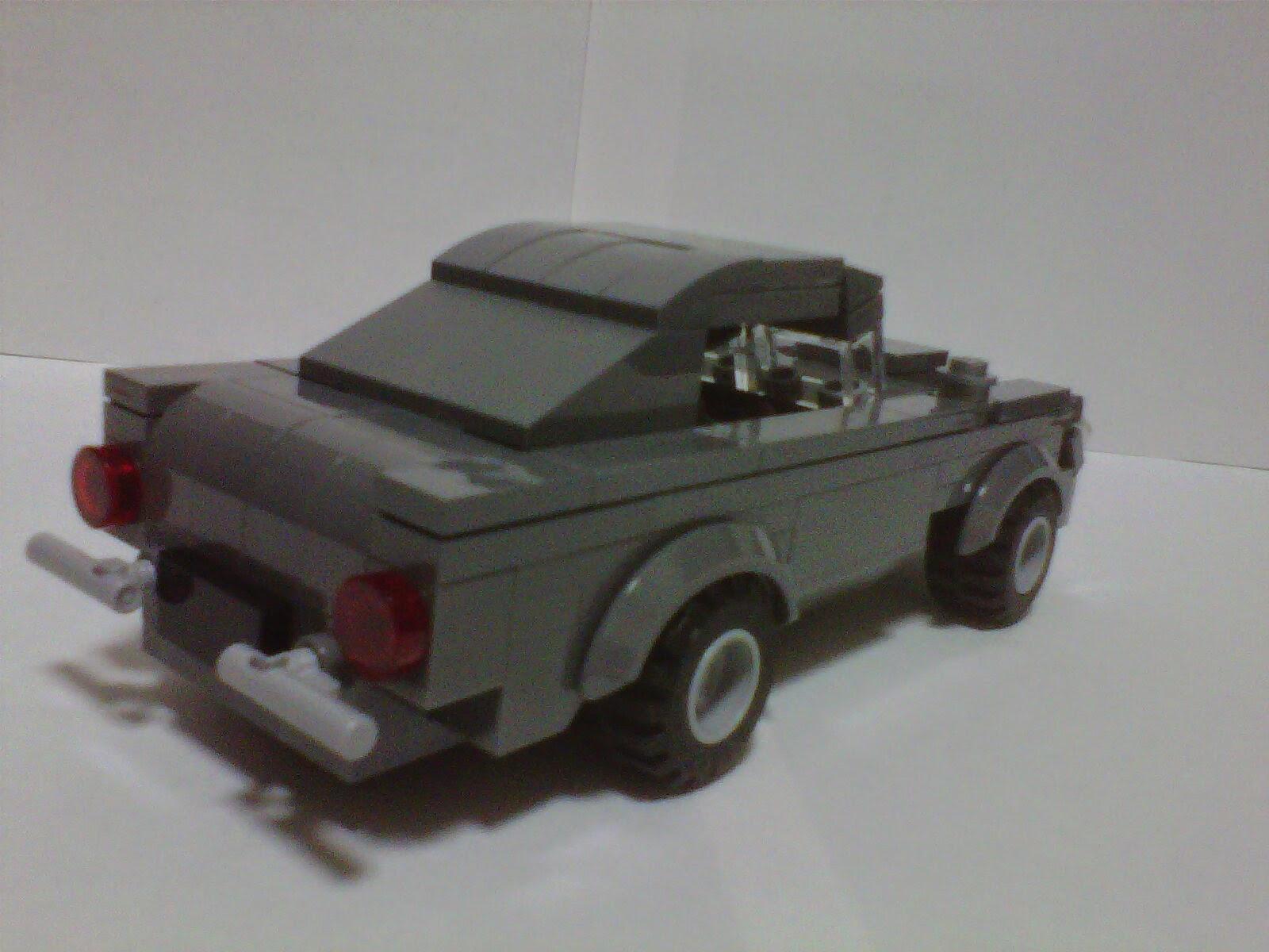 ONCE UPON A TIME:  DB5 LEGO Astin Martin DB5 Moc