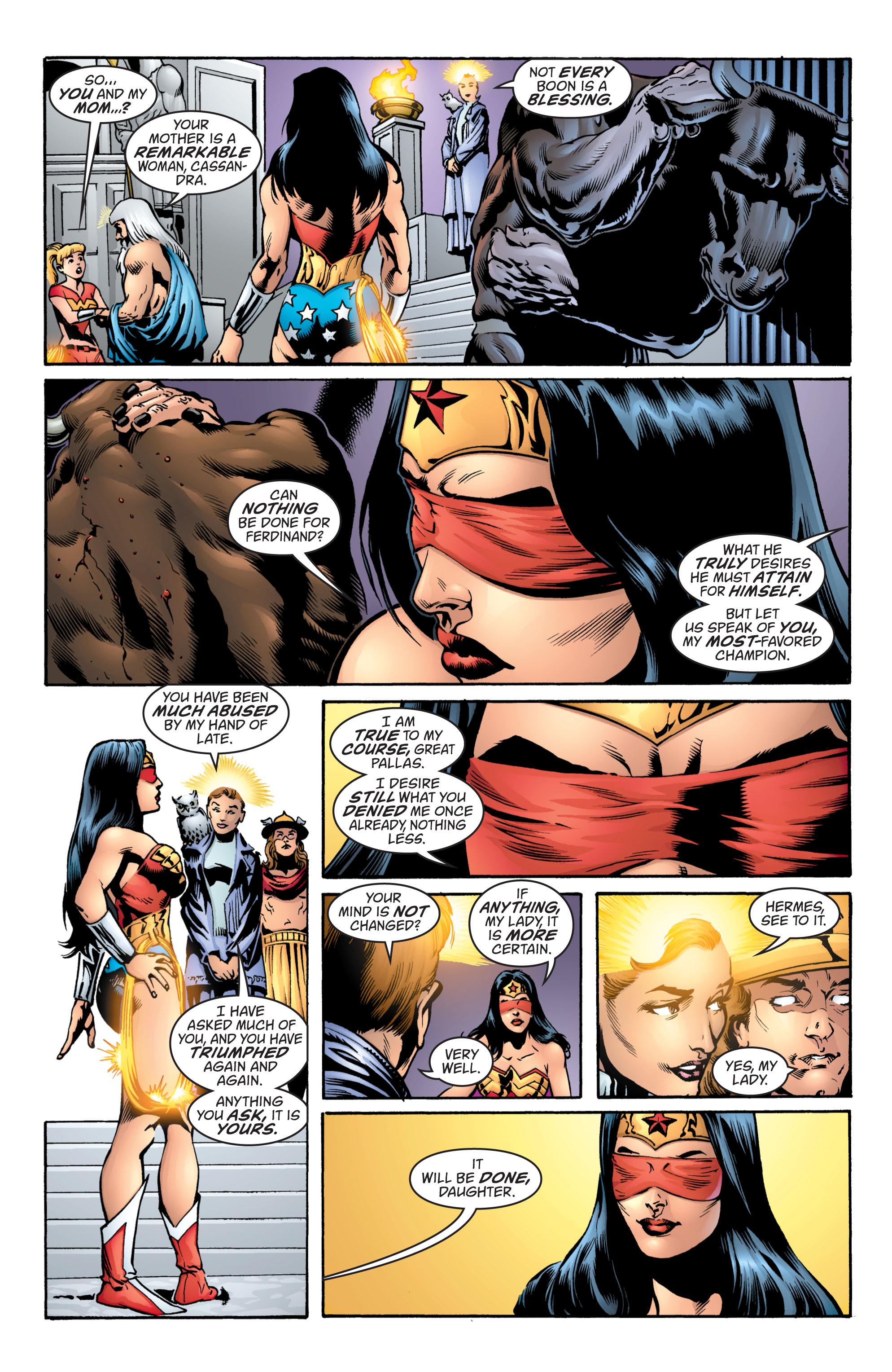 Read online Wonder Woman (1987) comic -  Issue #217 - 19