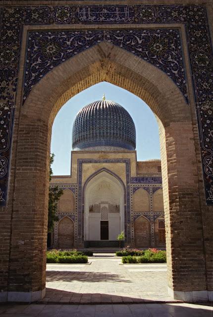 Ouzbékistan, Samarcande, Gour Emir, © Louis Gigout, 1999