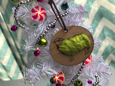 Katrinkles Sheep Ornament