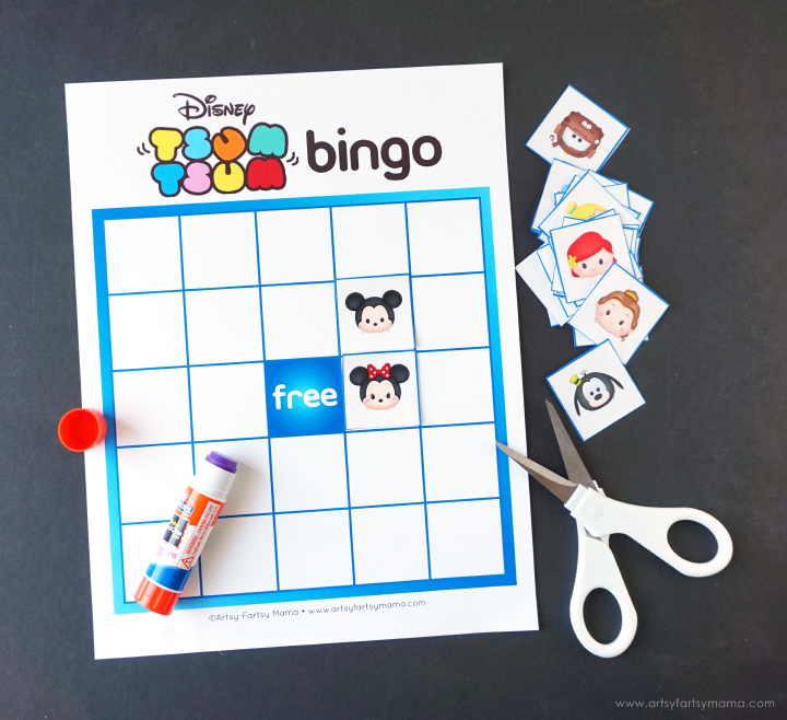Download and print Free Printable Tsum Tsum Bingo to play for fun and at parties!