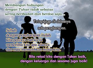 Membangun hubungan dengan Tuhan