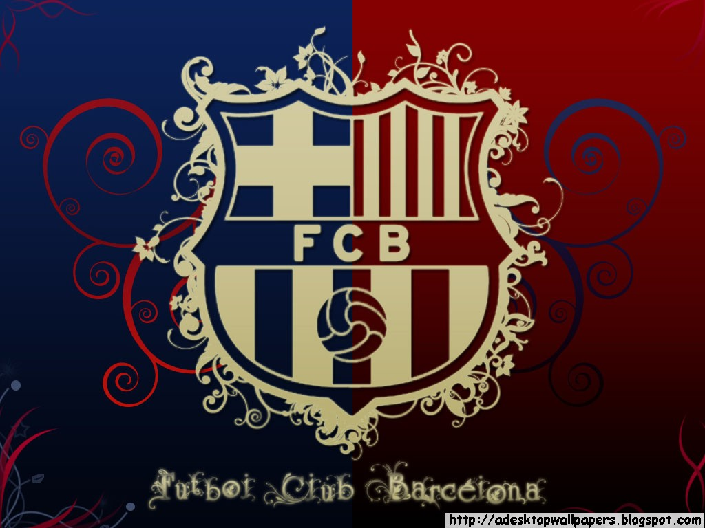 Wallpaper Lambang Fc Barcelona