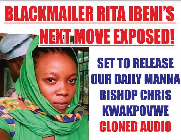 How Rita Ibeni Planned To Blackmail Me - Bishop Chris Kwakpovwe