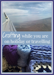Crafting while you are on holiday or travelling