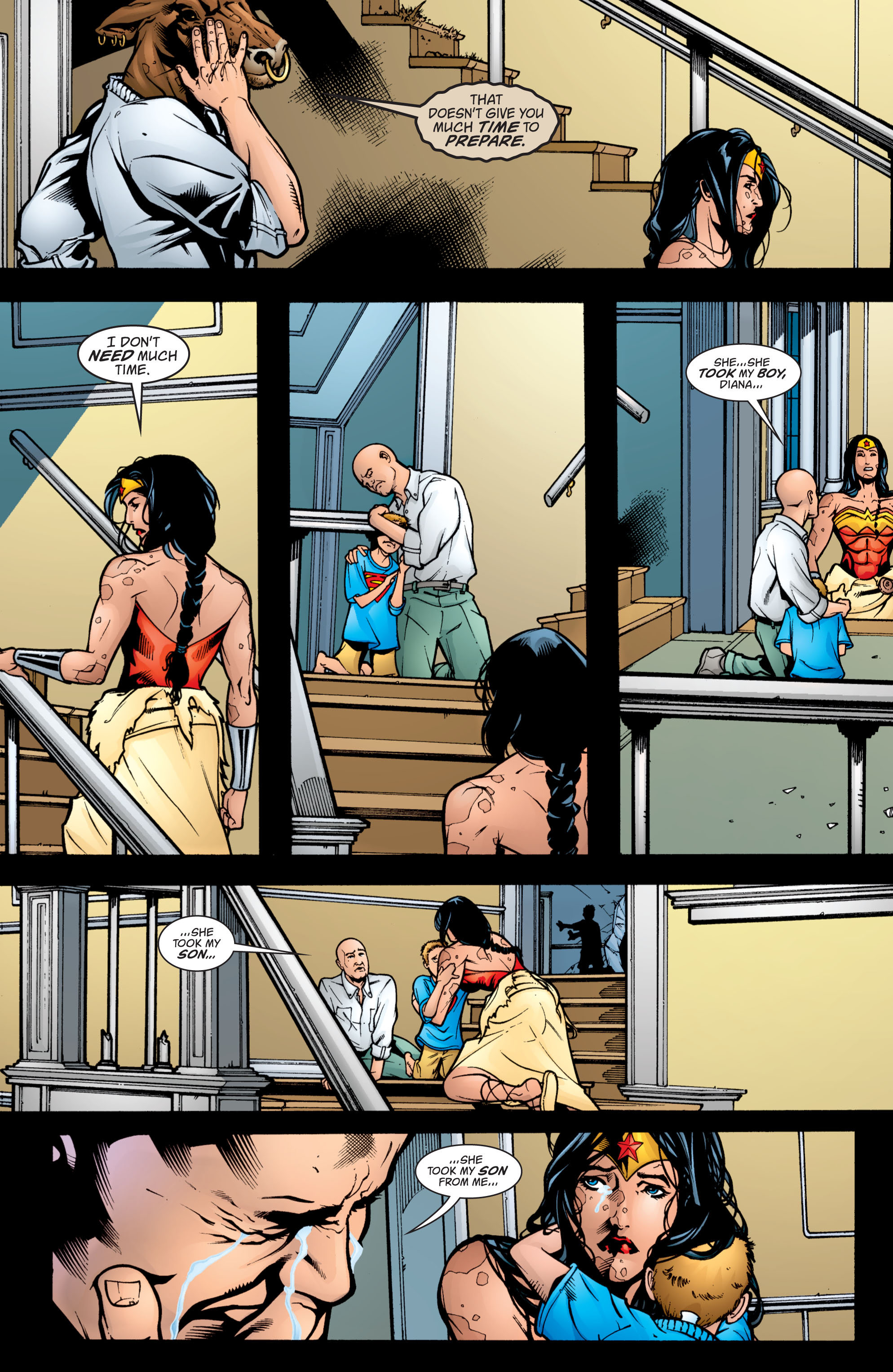 Read online Wonder Woman (1987) comic -  Issue #209 - 19